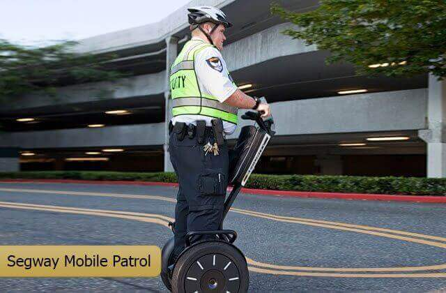 Segway Patrolling Security